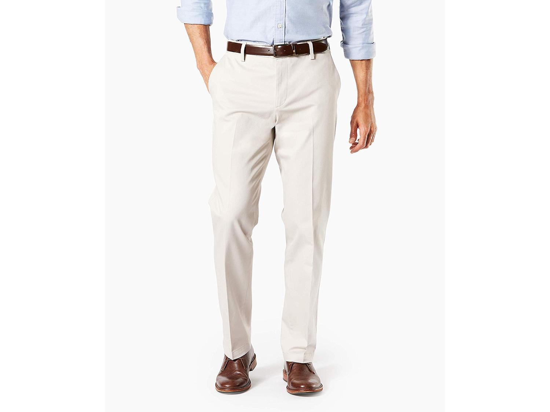 Dockers Mens Straight Fit Signature Khaki Pants D2