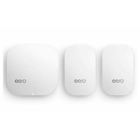 eero Home WiFi System (1 eero + 2 eero Beacons)