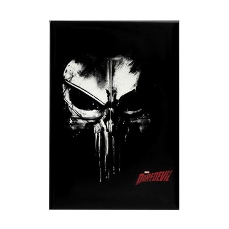 Cafepress   Netflix Punisher Skull   Rectangle Magnet  2  X3   Refrigerator Magnet
