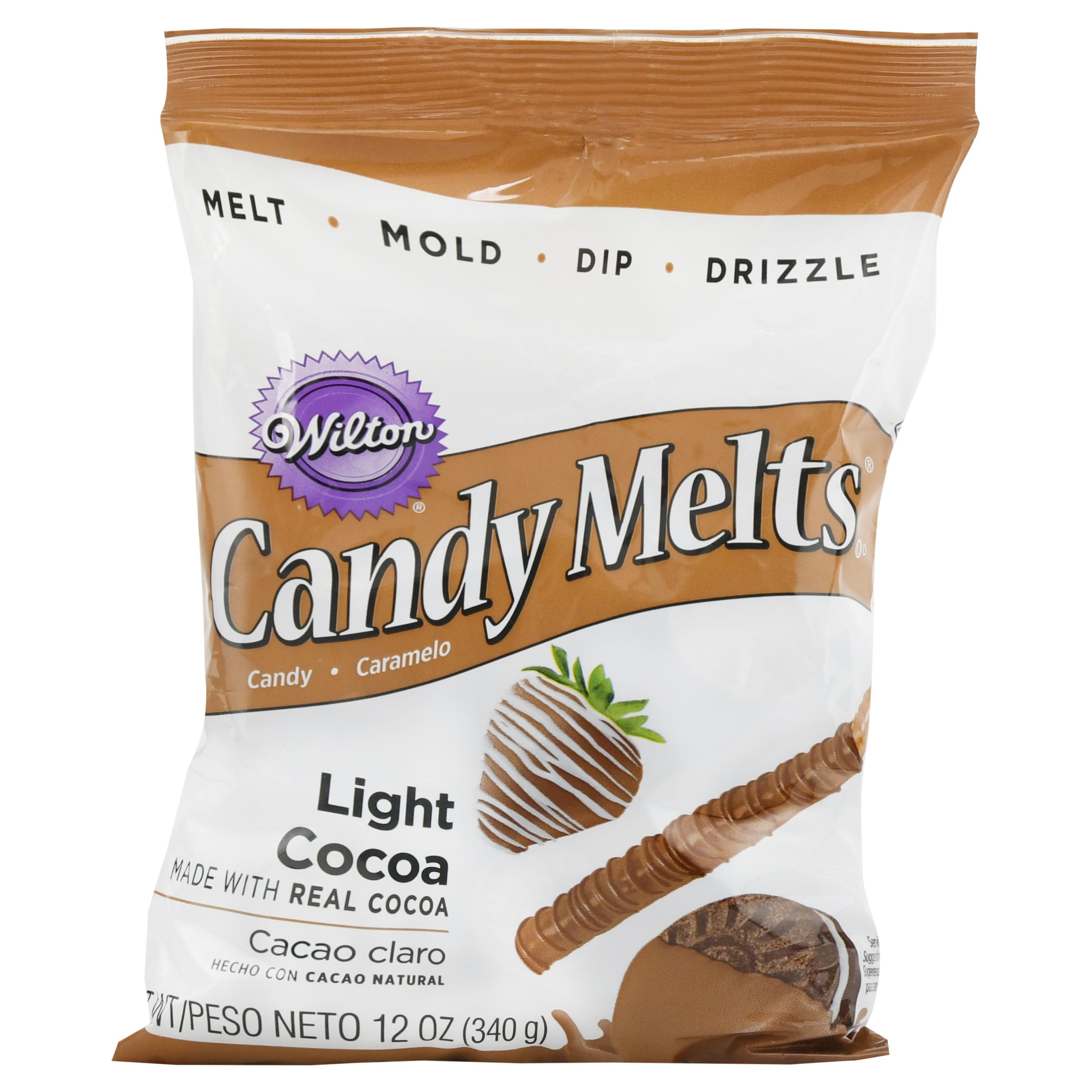 Wilton Candy Melts, Light Cocoa, 12 oz.