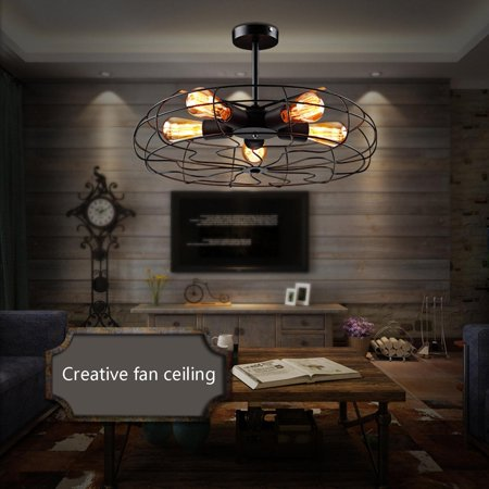 - Industrial Style Modern Ceiling Lamp  Pendant Lamp Steampunk Ceiling Chandelier Light