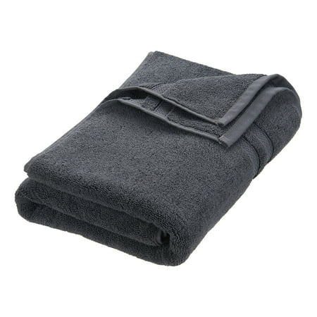 Hotel Style Turkish Cotton Bath Towel Collection, Bath Towel, Granite - 1 Piece
