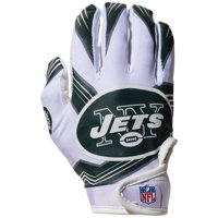 Franklin Sports NFL New York Jets Youth Football Receiver Gloves