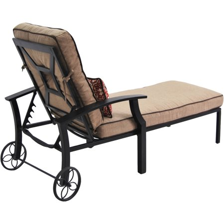 Better Homes And Gardens Carter Hills Chaise Lounge Best Buy Outdoor Chaise Lounges