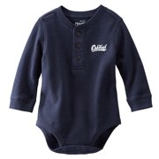 Carters OshKosh Baby Clothing Outfit Boys Thermal Navy Long Sleeve Shirt