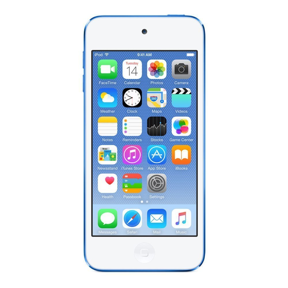 Refurbished Apple iPod Touch 32GB Blue 6th Generation MKHV2LL/A