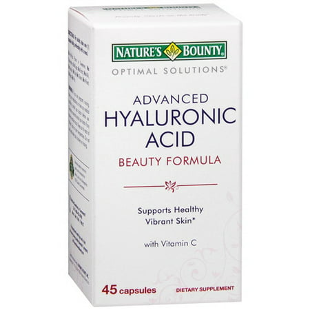 Natures Bounty Natures Bounty Optimal Solutions Hyaluronic