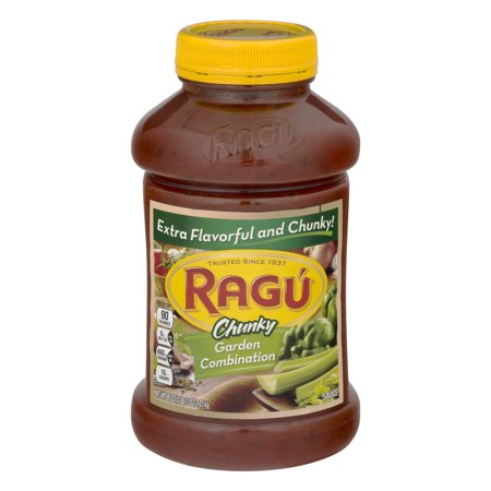 Ragú Chunky Garden Combination Sauce 45 oz