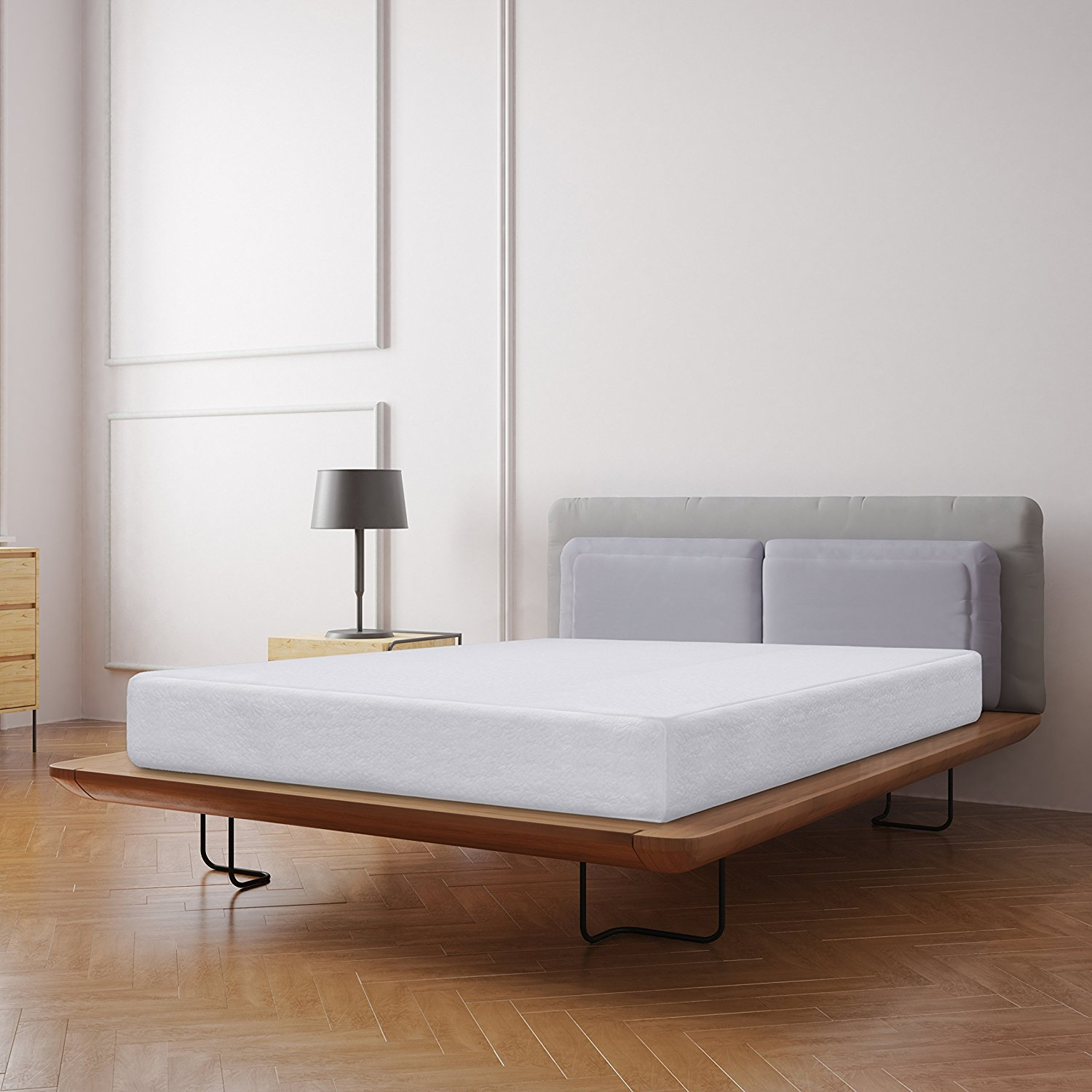 Best Price Mattress 10 Inch Memory Foam Mattress in a Box Multiple Sizes by Best Price Mattress