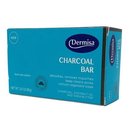 Dermisa Charcoal Bar Soap - Charcoal Bar