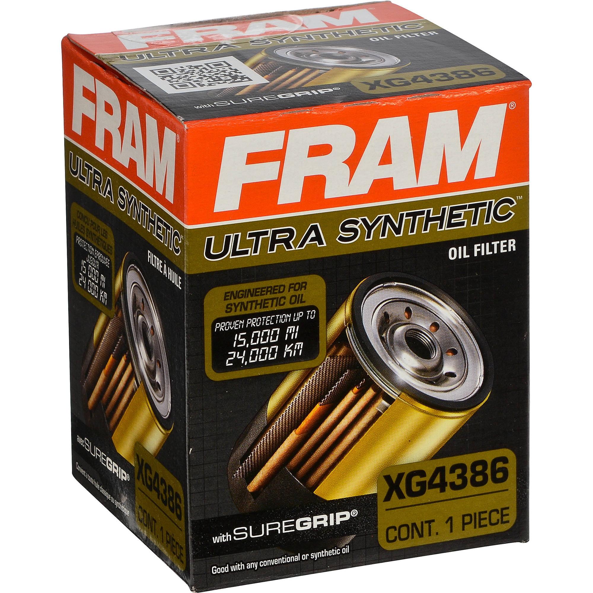 FRAM Ultra Synthetic Oil Filter, XG4386