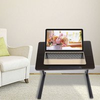 Fugacal Portable Adjustable Height Laptop Computer Stand Desk Bed Side Reading Table, Portable Laptop Table, Portable Laptop Desk