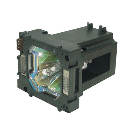 Canon LV-7590 Projector Housing with Genuine Original OEM Bulb
