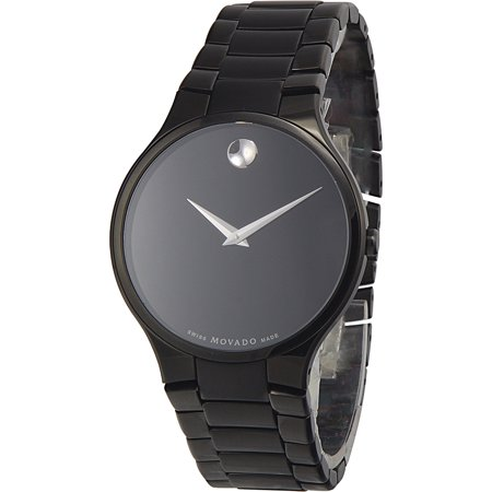 Movado Serio Black PVD Men's Watch, 0606594