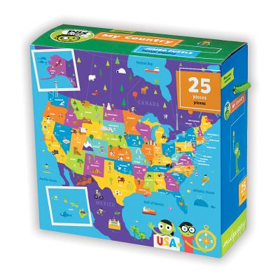 PBS Kids My Country Jumbo Puzzle