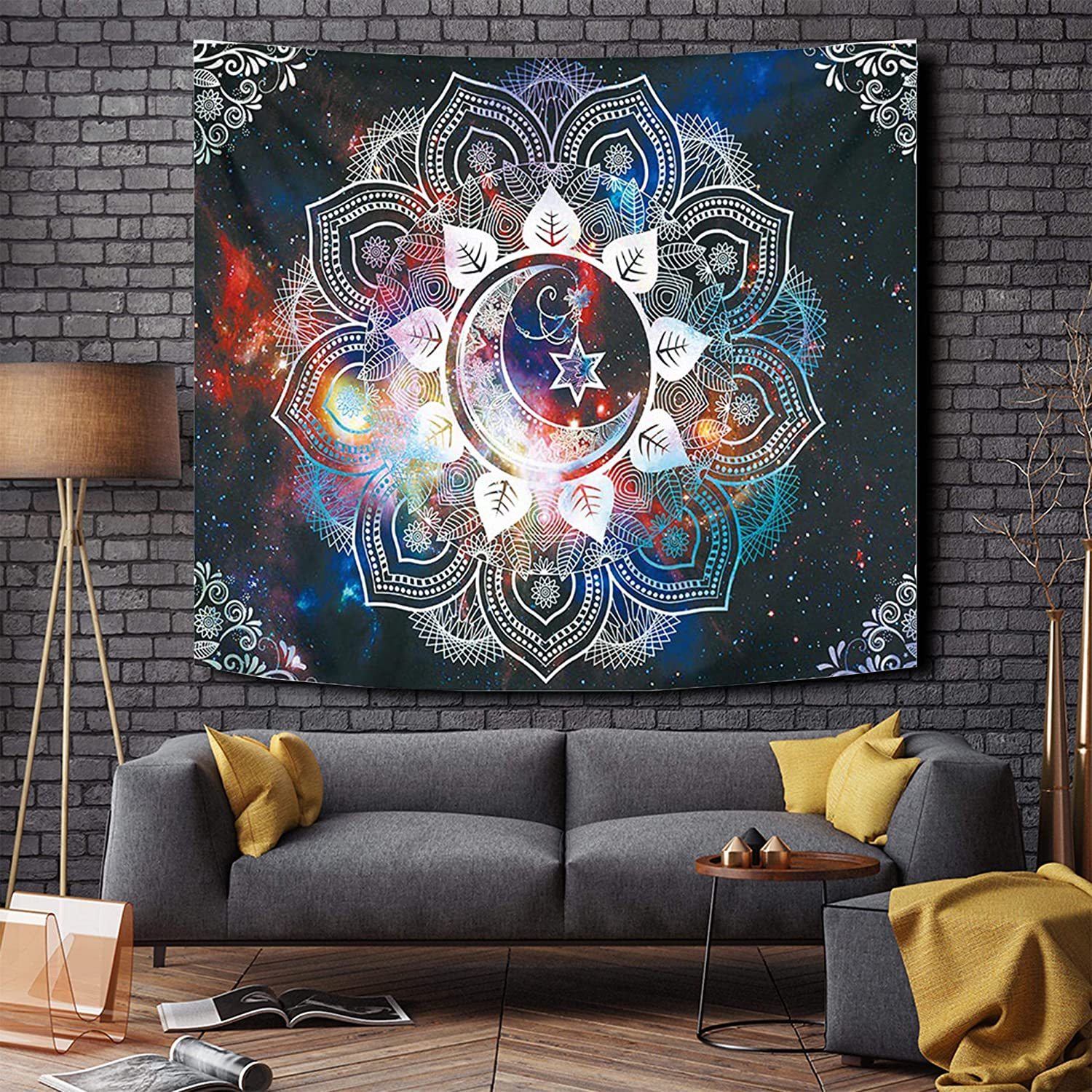Tapestries Fancy Floral Wall Hangings Room Decor For Bedroom Aesthetic Wall Decor For Bedroom Hippie Landscape Wall Art For Living Room Beige Starmoon 51 59inches Walmart Canada