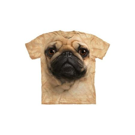 Pug Face Close Up Pet Dog Big Boys T-Shirt Tee](Big Dog T Shirt)