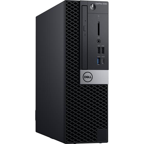 Dell OptiPlex 5060 Desktop Computer - Core i7-8700 - 8GB RAM - 500GB HDD - Intel UHD Graphics 630 - Small Form Factor