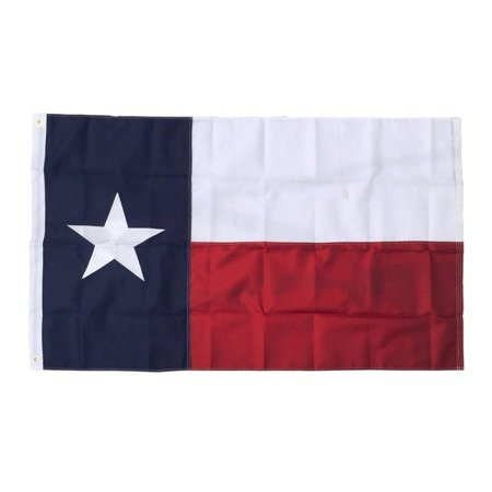 SOARS Texas State Flag 3x5 Ft with Embroidered Long Lasting Nylon, UV Protected, Best 3 by 5 USA Flag and Texas (Best State For Agriculture In Usa)