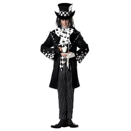 s  Mens Dark Mad Hatter Costume Size - Dark Mad Hatter