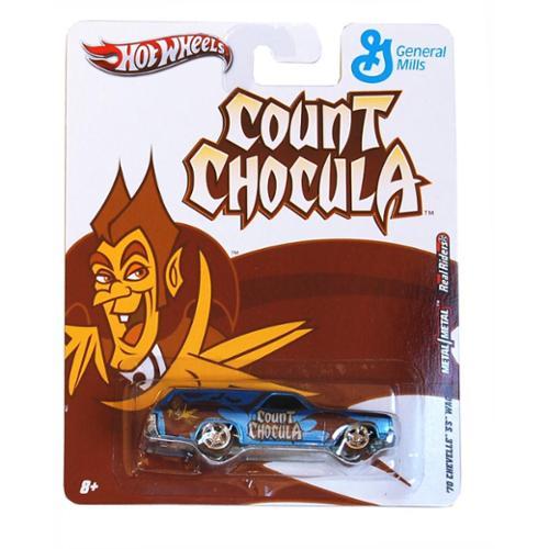 Hot Wheels Nostalgia Cars Count Chocula 70 Chevelle SS Wagon