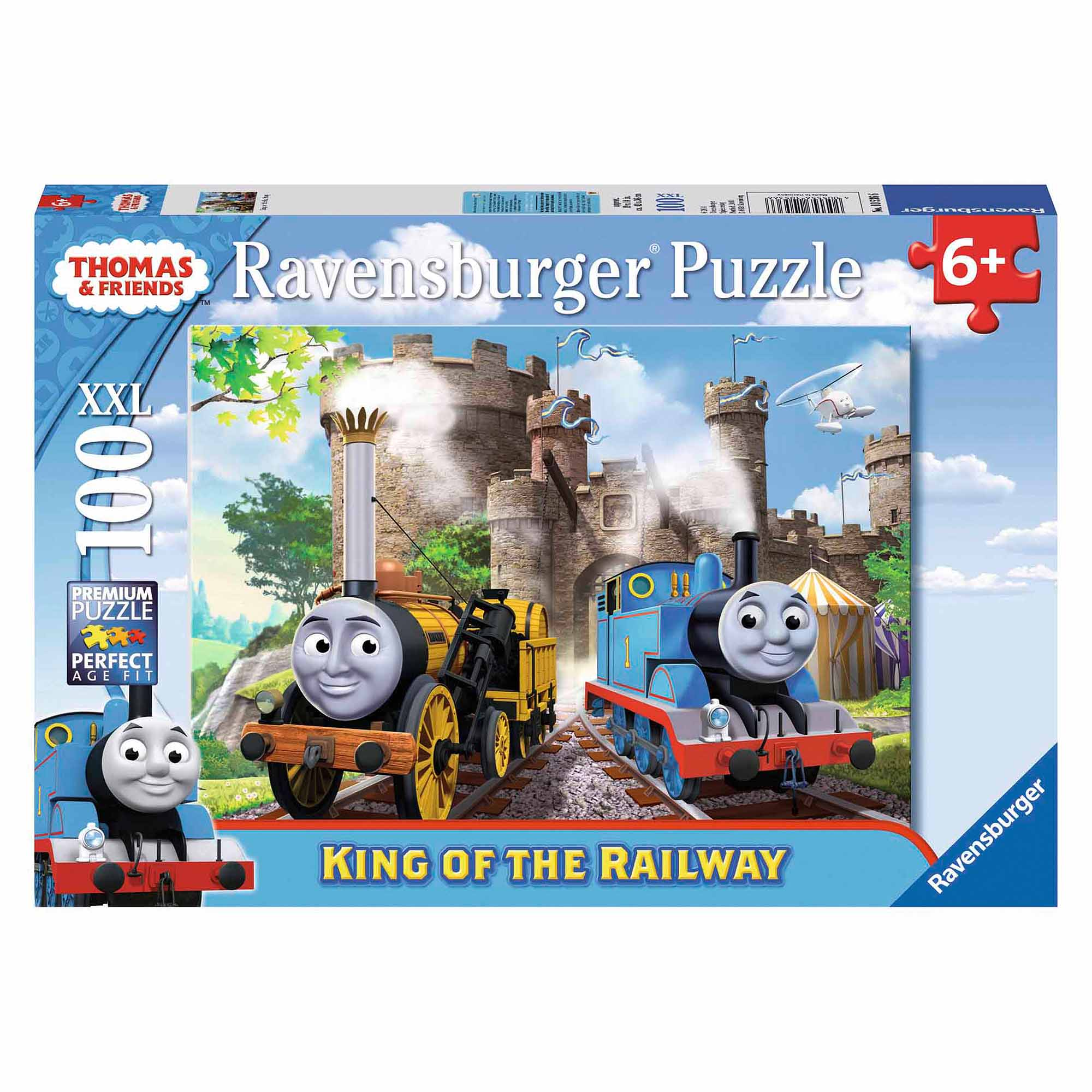 Thomas & Friends King of the Railway Puzzle, 100 Pieces