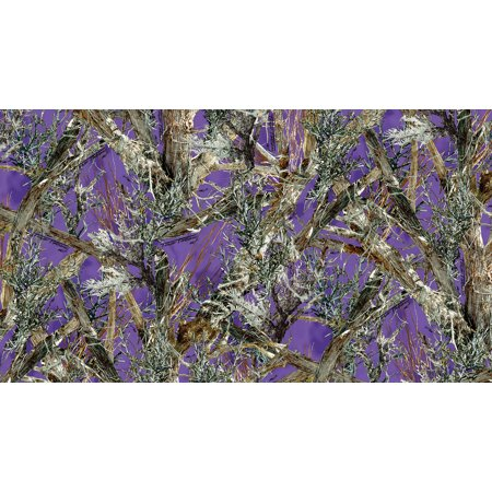 1000 Denier Coated CORDURA® HP Polyester True Timber MC2 Purple Camouflage Fabric, 60