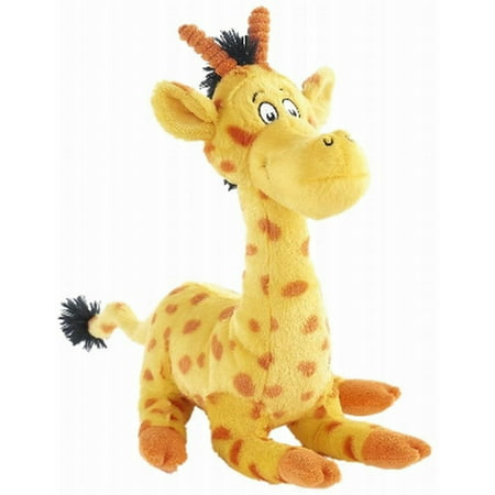 Kohls Cares Mulberry Street Giraffe Stuffed Animal Plush Pal Kohls Cares plush Giraffe from the book,  And to think that I saw it on Mulberry Street .  It will make a great plush palKohls Cares Giraffe from Mulberry Street stuffed animalPlush Giraffe is yellow with bright orange spotsSoft plush with embroidered eyesCharacter in Dr Seuss's bookMeasures 11  tallSurface cleanRecommended for all agesBrand is Kohls
