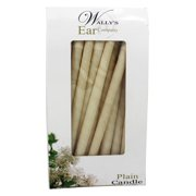 Wally's Natural Products - Paraffin Multi-Purpose Hollow Candles Plain - 12 Pack