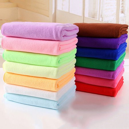 (Girl12Queen Microfibre Travel Gym Camping Sport Fast Drying Absorbent Cleaning Towel 35x75cm)
