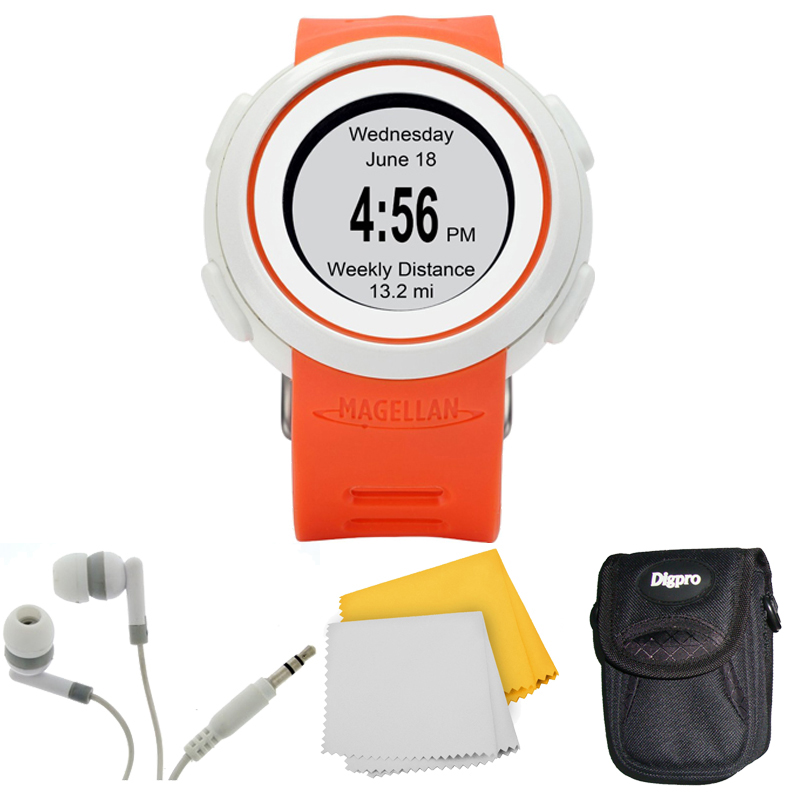 Echo Smart Running Watch Bundle (Orange)