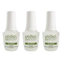 Gelish Soak-Off Gel Polish Nourish Cuticle Oil 0.5 oz (Pack Of 3)