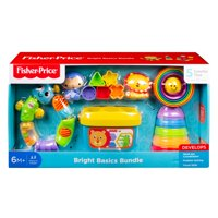 Fisher-Price Bright Basics Bundle, 5 Classic Toys Set