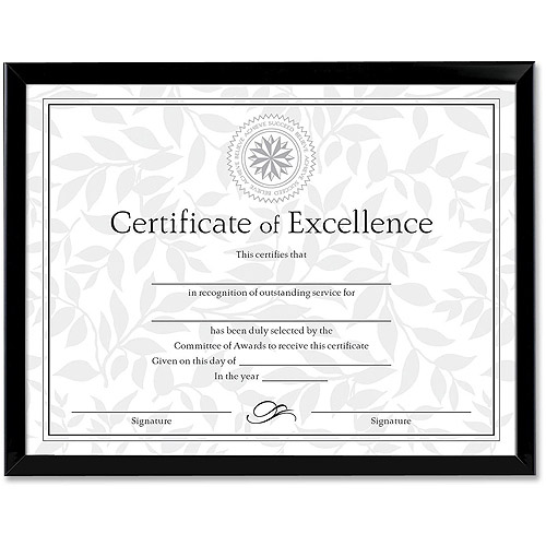 Burns Grp. Valued Price Certificate Frames