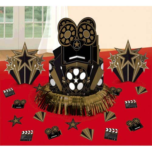 Hollywood 'Glitz and Glam' Table Decorating Kit (23pc)