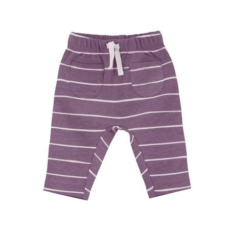 Plum Striped Harem Pants (Baby Girls) - Arab Harem Girls