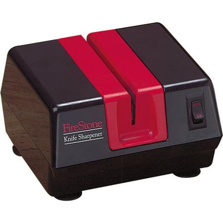 Firestone Fsfs1901 Black Red Electric Diamond Sharpening Knife Sharpener