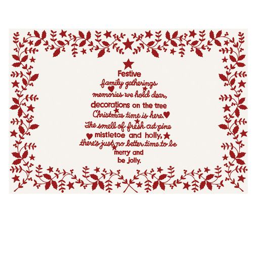 Heritage Lace Christmas Time Placemat (Set of 4)