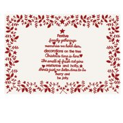 Heritage Lace Christmas Time 19'' Placemat (Set of 4)