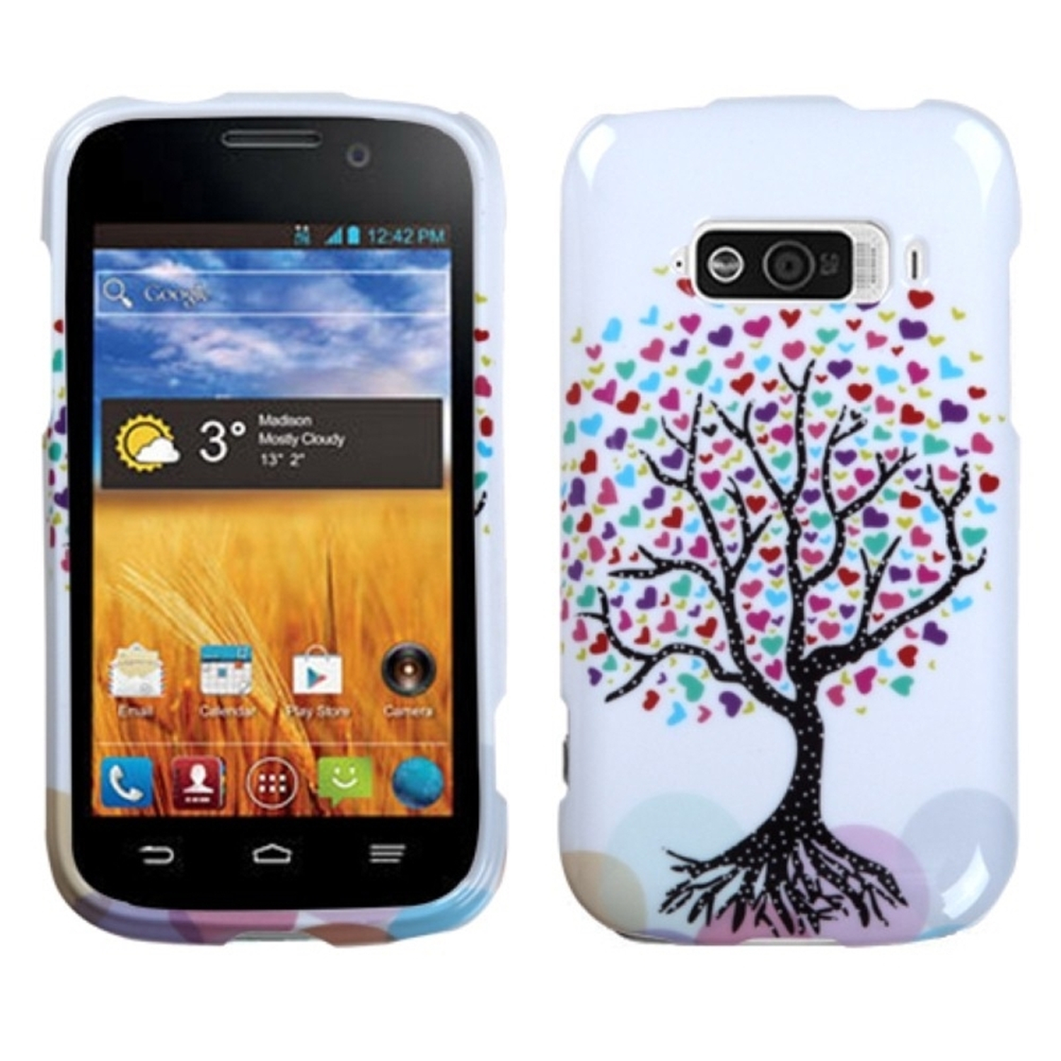 Insten Love Tree Phone Protector Case For ZTE N9101 Imperial
