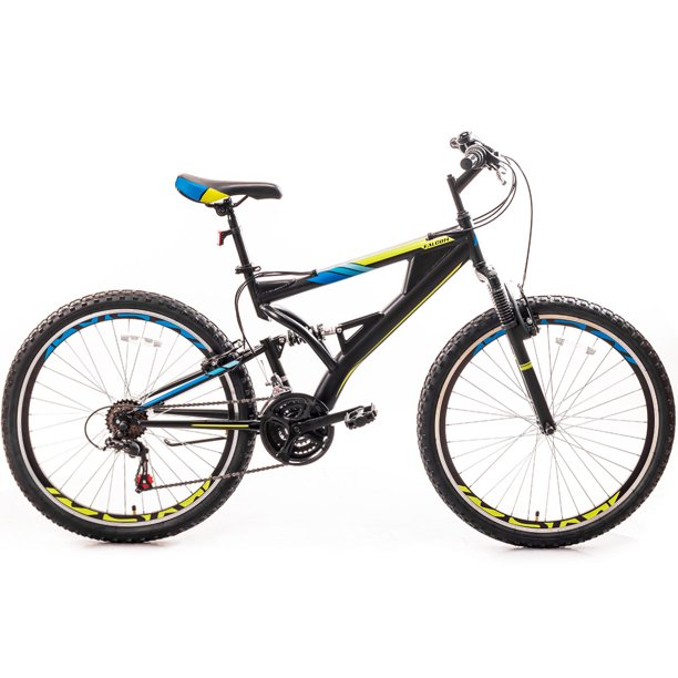 26 Inch Mountain Bike with Full Suspension 21-Speed