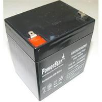 PowerStar AGM1205-137 12V, 5Ah Battery Craftsman Garage Door Opener Model - 2 Year Warranty