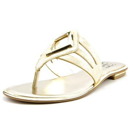bde7aaa76bcb ... UPC 093635148186 product image for Fergie Sam Women US 6 Gold Thong  Sandal