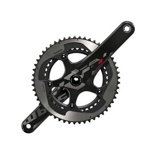 SRAM 2013 Red 22 GXP Road Bicycle Crankset (Black/Silver - 170 x 53/39)