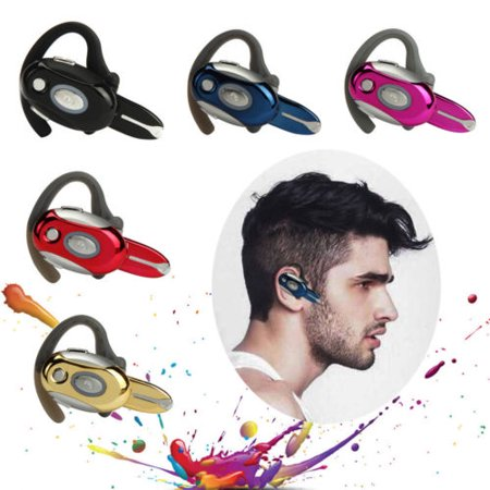 Business Handsfree Earphone Wireless Bluetooth Headset for Motorola New Vogue-black
