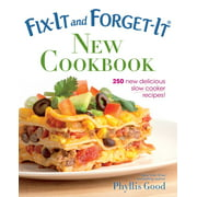 Fix-It and Enjoy-It!: Fix-It and Forget-It New Cookbook: 250 New Delicious Slow Cooker Recipes! (Paperback)
