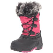 Kamik Girls' Powdery Snow Boot, Rose, 10 Medium US Toddler