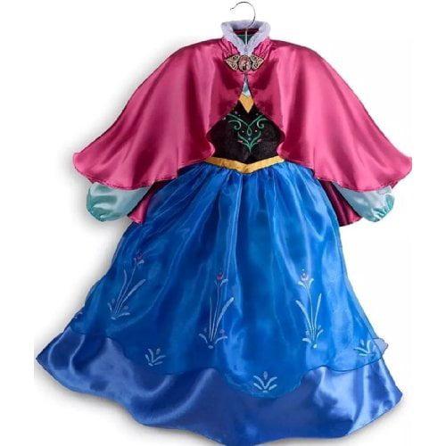 Disney Store Frozen Princess Anna Dress Costume Size Medium 7/8