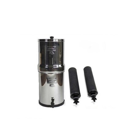 Royal Berkey Water Purification System with 2 Black