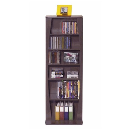 Atlantic Canoe Multimedia Wood Storage Rack